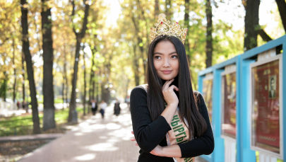 Кыргызстан сулуусу аталган Айжан Чаначева