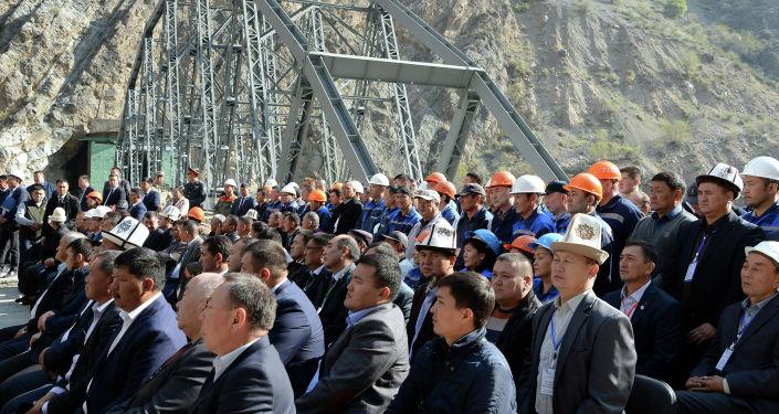 Ход реализации проекта по реабилитации Токтогульской ГЭС в Жалал-Абадской области