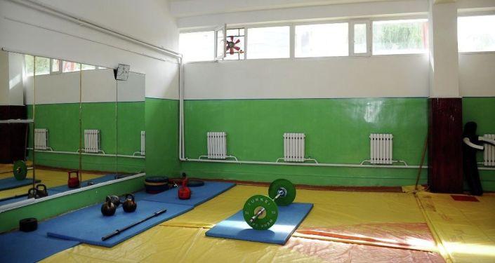 Результаты ремонтных работах во Дворце спорта имени Каба уулу Кожомкула в Бишкеке
