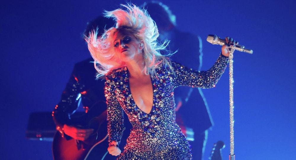 Американская певица Леди Гага. Архивное