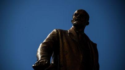 Памятник В. И. Ленину. Архивное фото