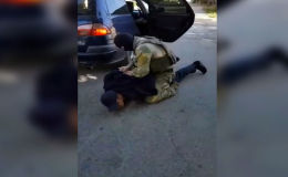 В Джалал-Абаде задержали молодого человека, который, как утверждает милиция, участвовал в военных действиях в Сирии.
