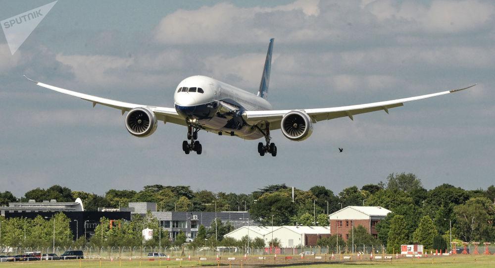 Пассажирский самолет Boeing 787-9. Архивное фото