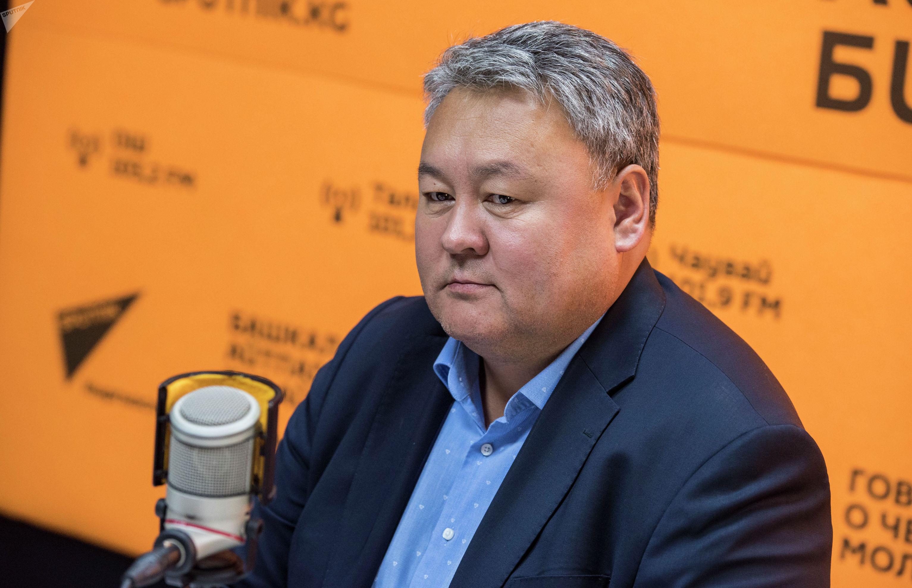 Предприниматель, автор проекта музея эпосу Манас Темирлан Сарлыкбек уулу