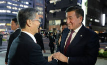 Президент КР Сооронбай Жээнбеков в рамках рабочей поездки в Японию посетил головной офис корпорации Tokyo Rope MFG в городе Токио