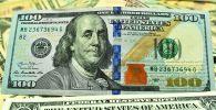 Банкнота номиналом 100 долларов США. Архивное фото