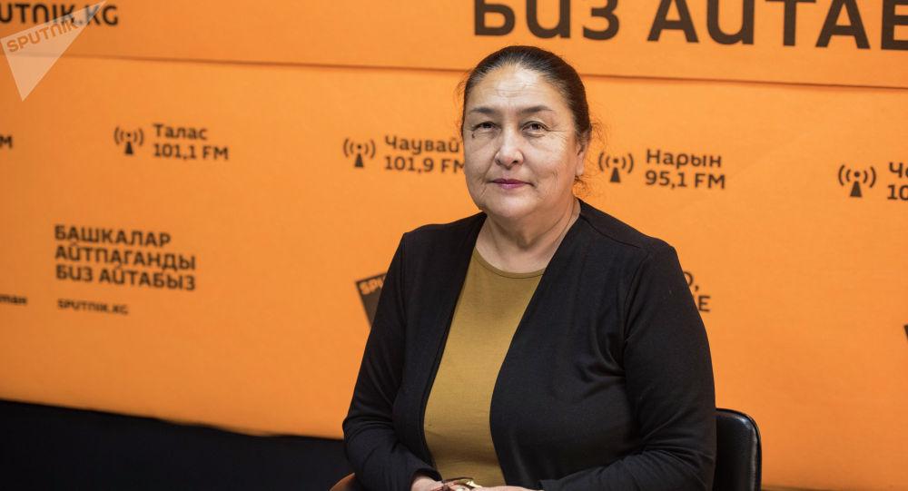 Айыл чарба тармагындагы эксперт Дария Тогузбаева. Архив