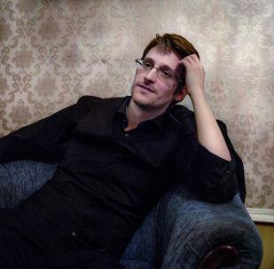 Бывший сотрудник Агентства национальной безопасности (АНБ) США Эдвард Сноуден. Архивное фото