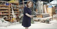 Исследователи из Великобритании показали, чем опасна сидячая работа: они создали модель женщины, которая два десятка лет трудилась в офисе.