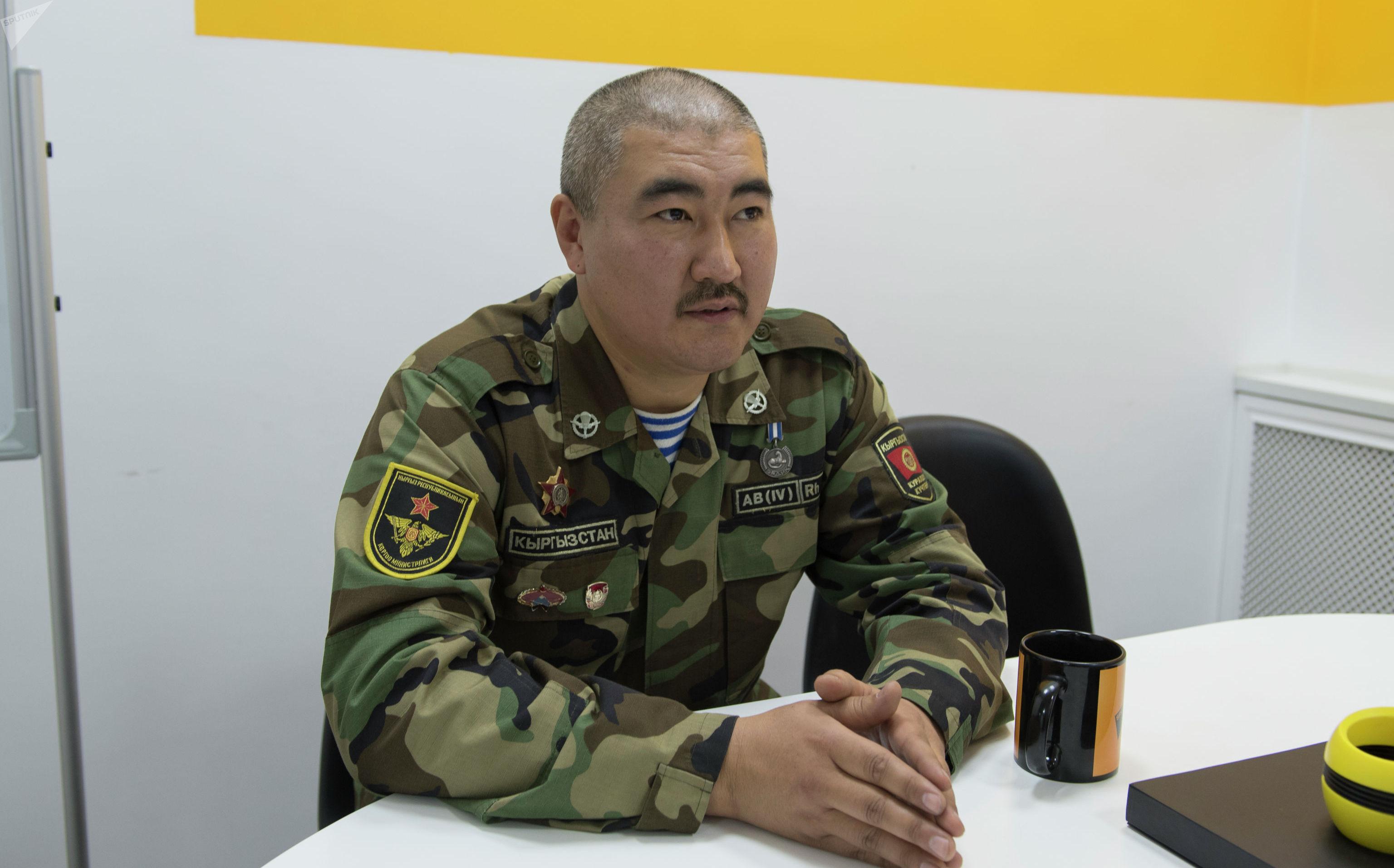 Участник баткенских событий Бакыт Молдокулов