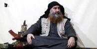 Ислам мамлекети уюмунун лидери Абу Бакр аль-Багдади. Архивдик сүрөт