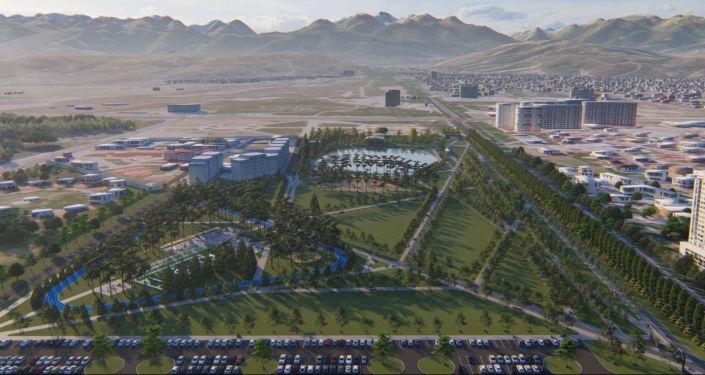 Бишкек мэрия борбор калаанын түштүк тарабына дагы эки сейил бак курууну пландап жатат. Эки долбоордун видео презентациясы жарыяланды.