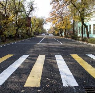 Завтра, 1 ноября, мэрия Бишкека обещает открыть отремонтированный участок улицы Московской от проспекта Манаса до улицы Байтик Баатыра.