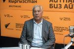 ӨКМдин алдындагы Гидрометеорология агенттигинин директорунун орун басары Рыскелди Асанходжаев
