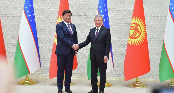 Премьер-министр Мухаммедкалый Абылгазиев Өзбекстандын президенти Шавкат Мирзиёев менен Ташкентте жолукту.