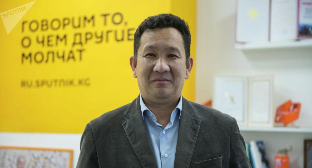 Капиталдык курулуш башкармалыгынын шаардык жолдор бөлүмүнүн башчысы Темирбек Мамашов