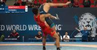 Организаторы Чемпионата мира по борьбе среди молодежи внесли прием кыргызстанца Эрназара Акматалиева в число лучших бросков по итогам третьего соревновательного дня.