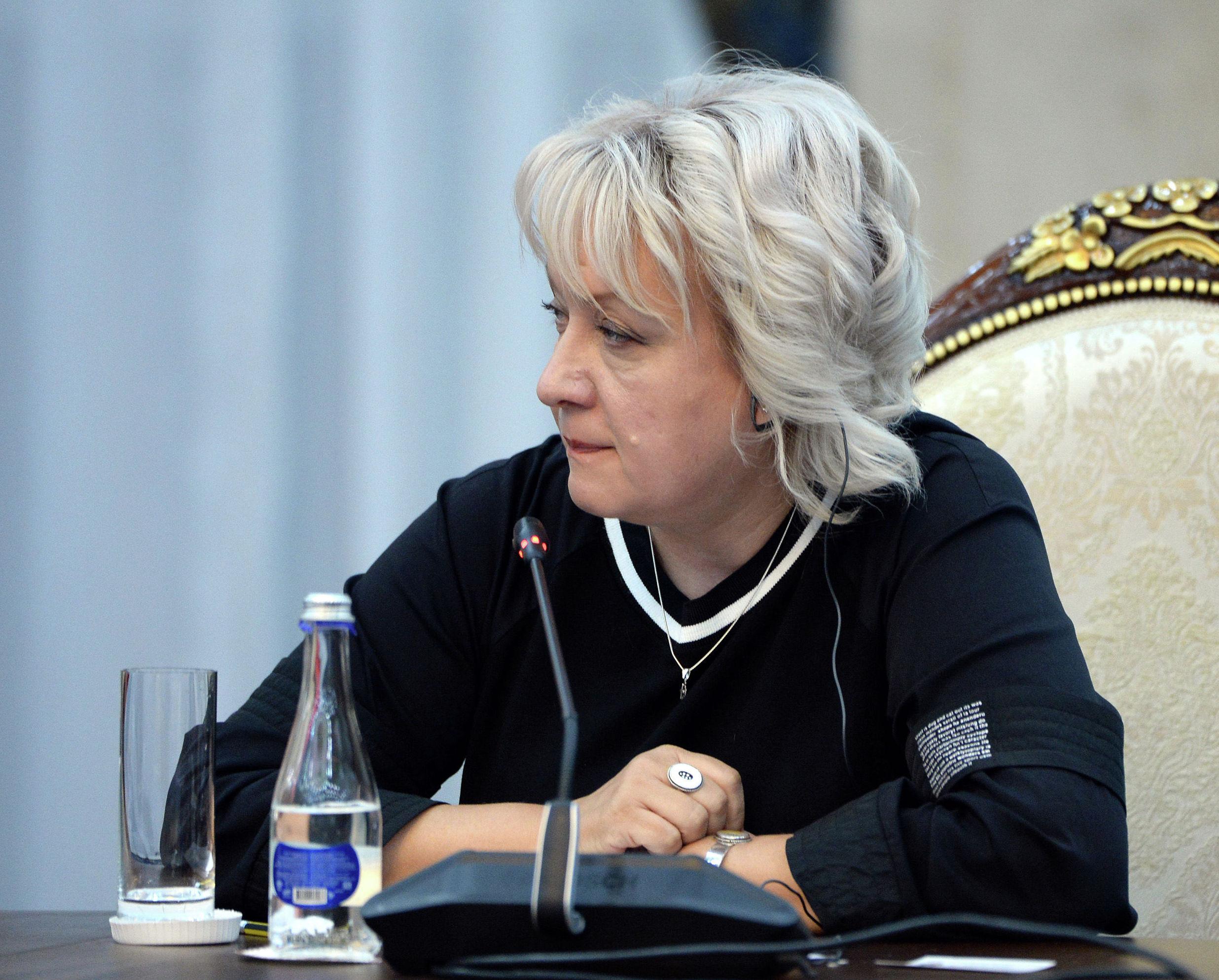 Руководитель международного информационного агентства и радио Sputnik Кыргызстан Елена Череменина