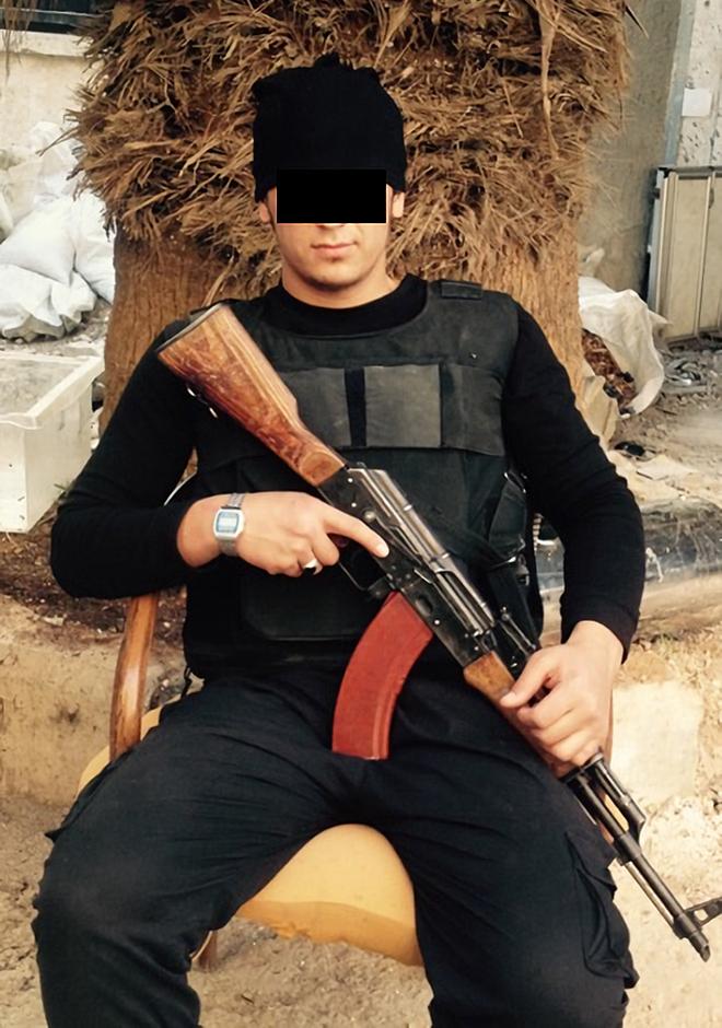 Задержан 24-летний кыргызстанец Х. М. по подозрению в наемничестве