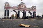 Жалал-Абад шаарына кире бериштеги арка