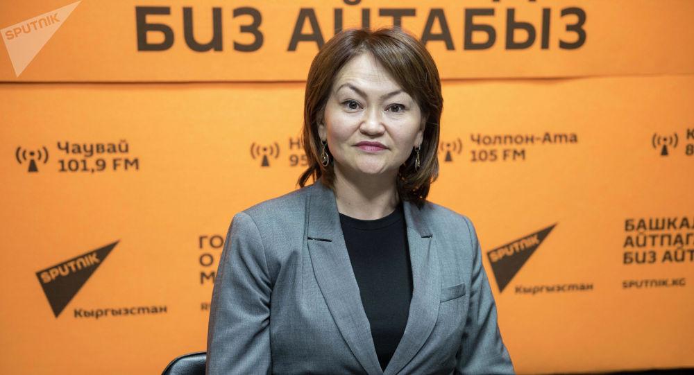 Лига коомдук фондусунун директору Назгүл Турдубекова
