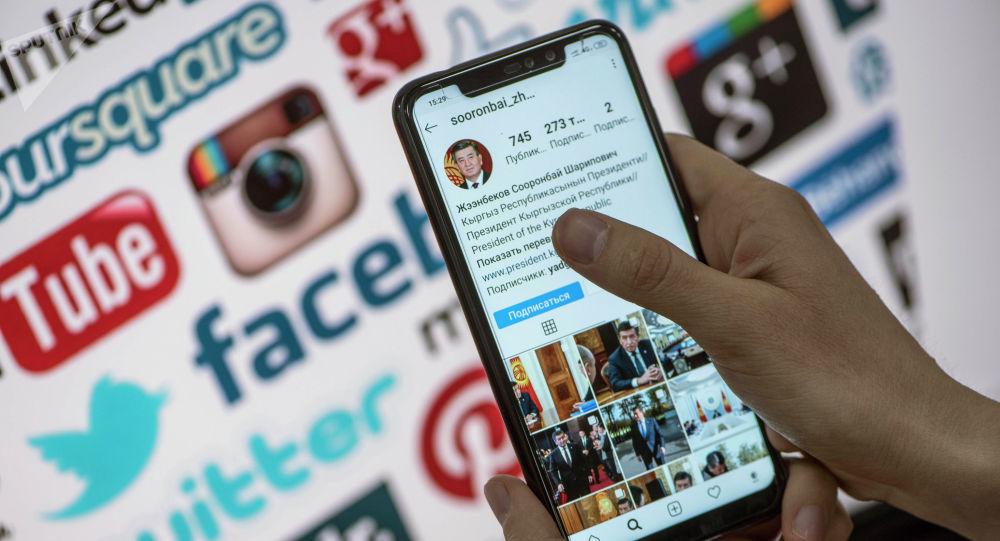 Президент Сооронбай Жээнбековдун Instagram соцтармагындагы аккаунту. Архивдик сүрөт