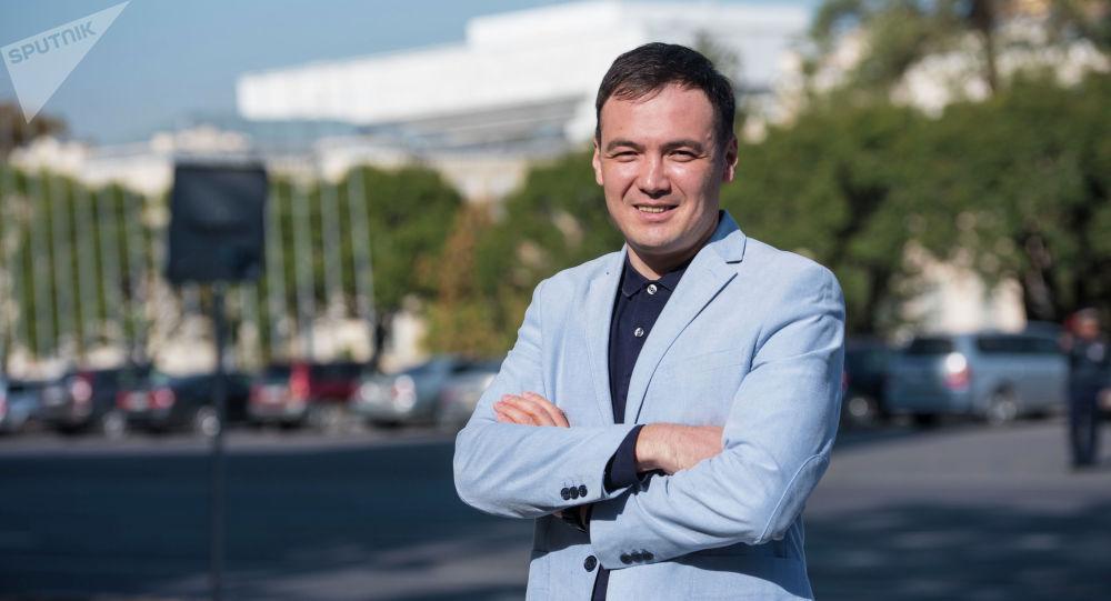 Участник чикагского марафона 2019 года кыргызстанец Темирбек Эркинов
