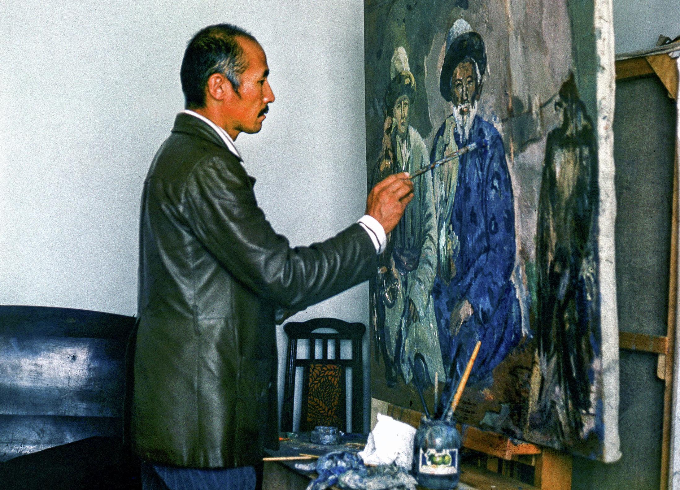 Советский и кыргызский актер кино, художник, народный артист СССР Суйменкул Чокморов