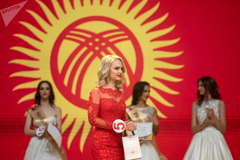 Финал конкурса Топ Модель СНГ 2018. Участница Кыргызстана Дара Вайсман