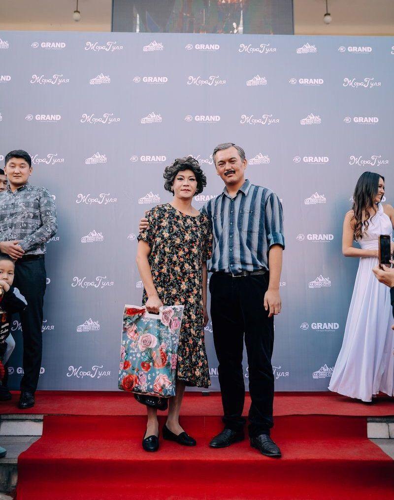 Кыргызстанский юморист, актер и телеведущий Самат Эркинбеков на премьере фильма Жора и Гуля