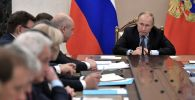 Россиянын президенти Владимир Путин жыйын учурунда