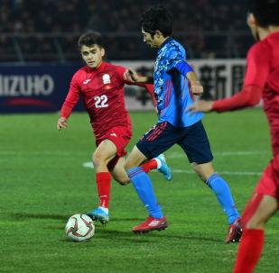 Бишкекте өткөн футбол оюнунда Япония Кыргызстанды утуп алды