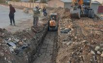 Жилмассивы Арча-Бешик и Ак-Орго подключены к системе центральной канализации