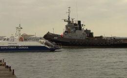Россия вернула Украине военные корабли, задержанные в прошлом году за провокацию в Керченском проливе.