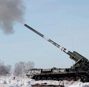 Министерство обороны России опубликовало видео испытаний артиллерийских установок 2С7М Малка. Стрельбы российских артиллеристов прошли в Кузбассе.