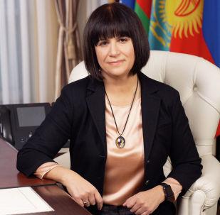 Министр по внутренним рынкам, информатизации, информационно-коммуникационным технологиям Евразийской экономической комиссии (ЕЭК) Карине Минасян