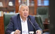Премьер-министр КР Кубатбек Боронов. Архивное фото