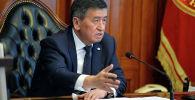 Мурдагы президент Сооронбай Жээнбеков. Архив
