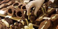 Шоколадные фигуры на международной ярмарке. Архивное фото