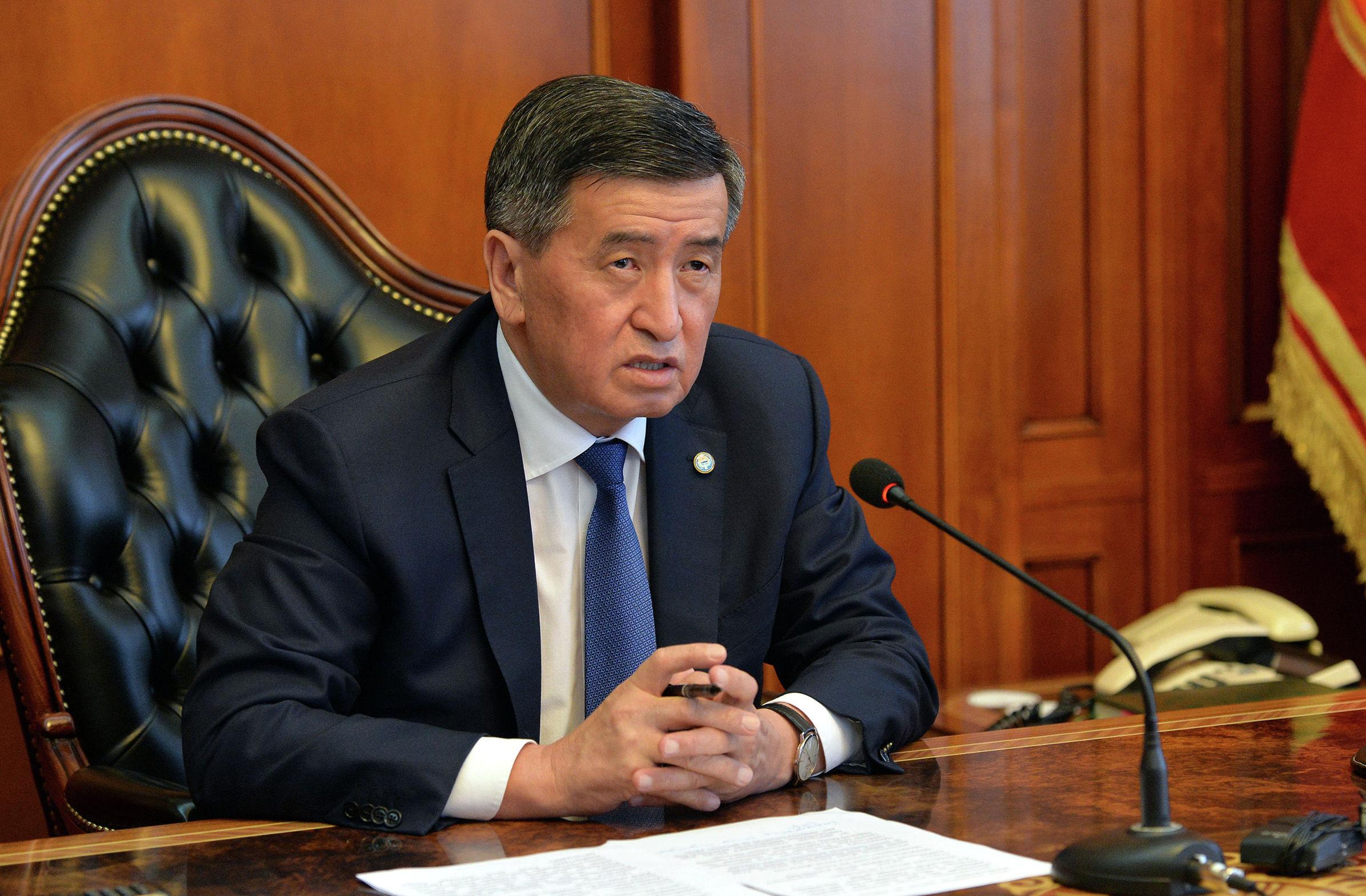 Президент Кыргызской Республики Сооронбай Жээнбеков сегодня, 13 июля, провел онлайн-совещание с Премьер-министром Кыргызской Республики Кубатбеком Бороновым.