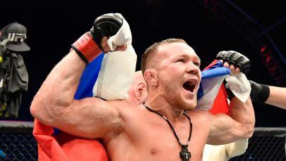 UFC чемпиону Петр Ян. Архивдик сүрөт