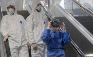 Медицинские работники в Международном аэропорту Шереметьево в Москве. Архивное фото