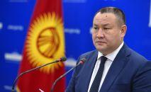 Полномочный представитель Правительства КР в Чуйской области Алтынбек Намазалиев. Архивное фото