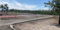 Строительные работы в парке здоровья на юге столицы