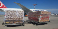 В Бишкек доставили очередную партию мобильных кислородных концентраторов
