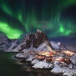 Немецкий фотограф Андреас Еттл снял северное сияние