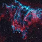 Когда массивная звезда взрывается, она выделяет огромное количество веществ. Земляне же могут увидеть красивую туманность. Фото американца Джозефа Друдиса.