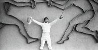 Олимпийский чемпион 1976 года, чемпион СССР фехтовальщик Виктор Кровопусков. Архивное фото