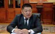 Бывший министр здравоохранения КР Космосбек Чолпонбаев. Архивное фото