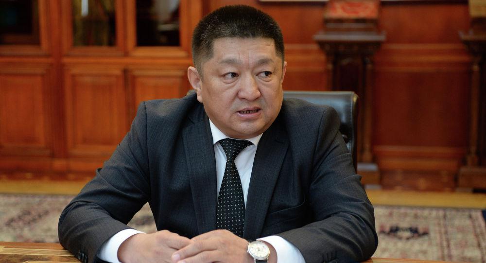 Экс-министр здравоохранения Космос Чолпонбаев. Архивное фото